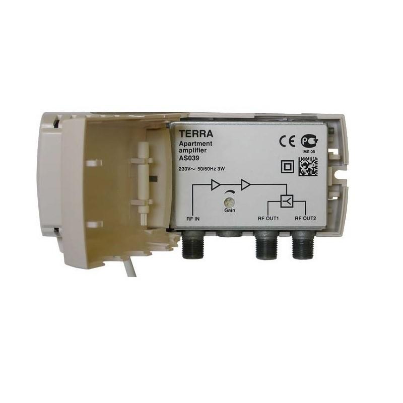 Amplificador de interior, Tecatel 30dB, 100 dBµV LTE