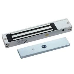 Ventosa electromagnética Fail Safe con 180 Kg de retención para puerta