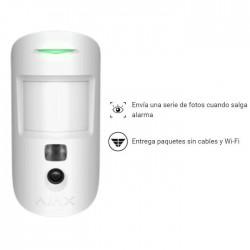 Detector de movimiento con cámara integrada para alarma Ajax