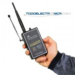 Detector profesional de inhibidores de frecuencia para localizadores GPS y teléfonos móviles