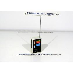 Detector profesional de señal de radiofrecuencia para detectar móvil, Wifi y micros