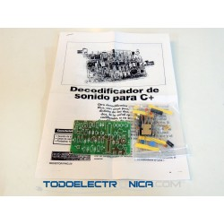 Kit de decodificador de sonido para Canal +