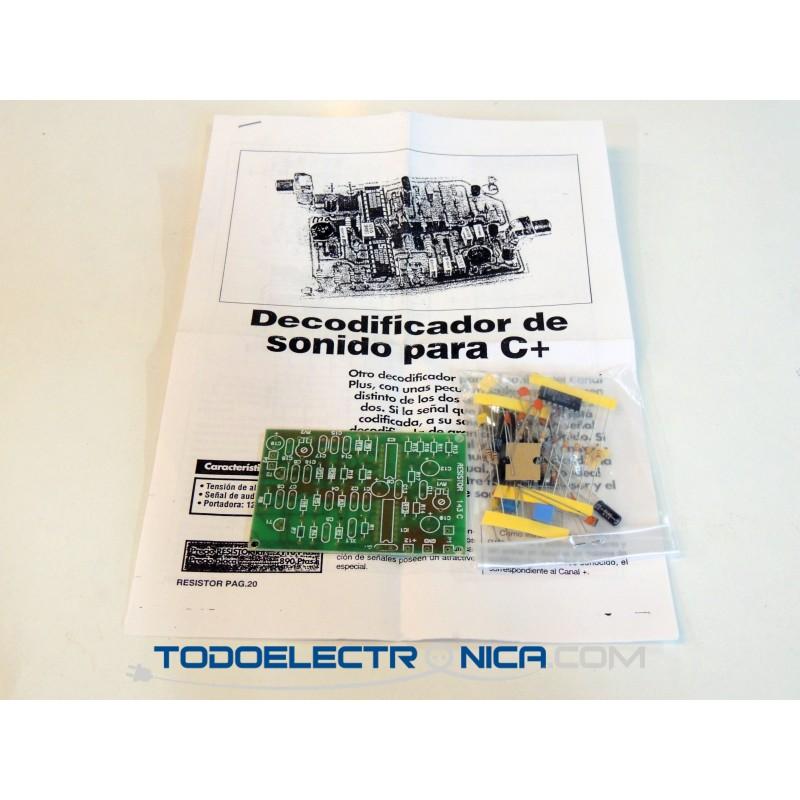 Kit de decodificador de sonido para Canal +