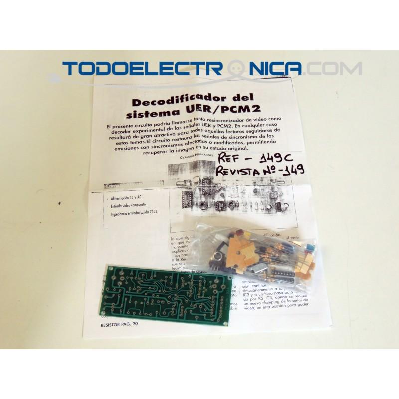 Kit para decodificador del sistema UER/PCM2