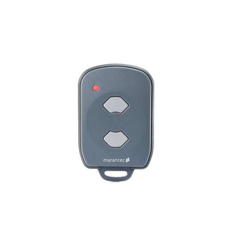 Mando de garaje original de 2 botones y 433.92 MHz MARANTEC D382/433