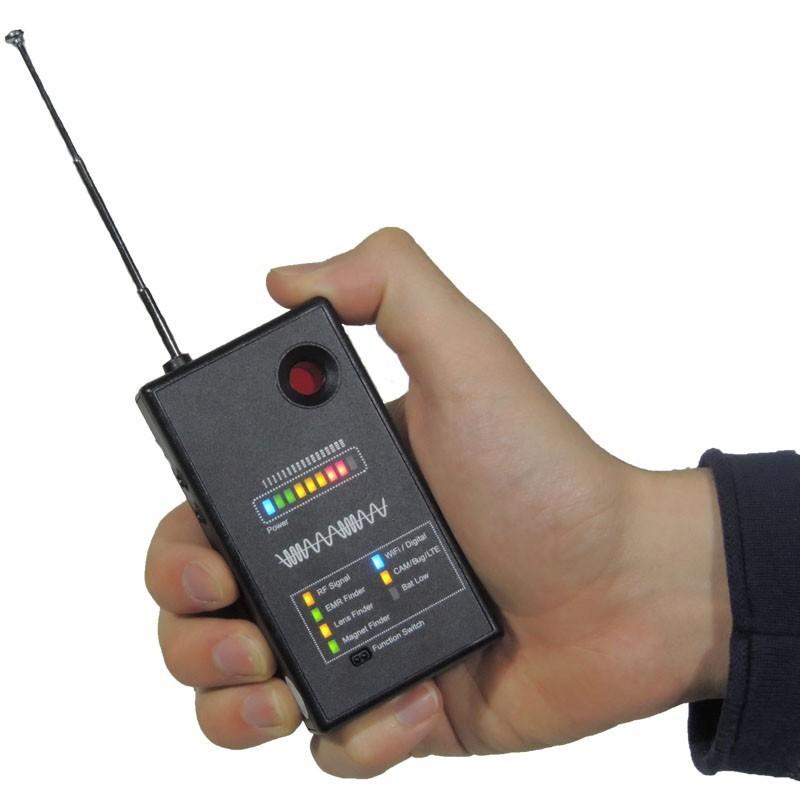 Detector profesional anti cámaras espía, tarjetas Micro SD y Wifi todo en uno