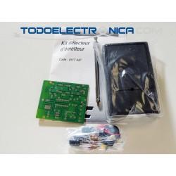 Kit detector de transmisión de escuchas espía