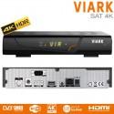 Decodificador de satélite VIARK SAT 4K con WiFi hasta 60FPS
