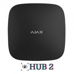 Central de alarma Ajax sin cuotas compatible con detectores con cámara