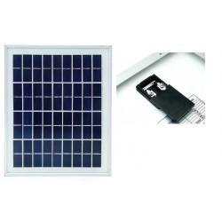 Panel solar de 5W a 12V Policristalino (320x200x18mm)
