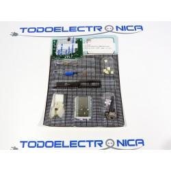 Kit para montar un Visualizador etilómetro eléctrico con placa incluida
