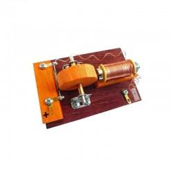 Kit didáctico para montar motor eléctrico de tipo rodillo