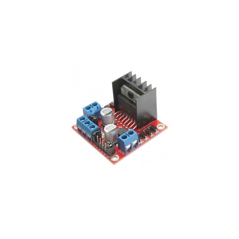 Módulo de control para motor paso-paso L298N dual puente H DC