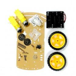 Kit para Arduino de chasis con ruedas y motoreductores