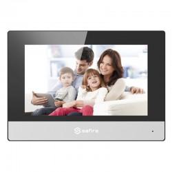 Monitor para videoportero Safire con audio bidireccional y WiFi