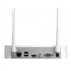 Kit de vigilancia WiFi Uniview con 4 cámaras de vigilancia IP y 1 NVR