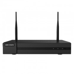 Grabador NVR WiFi Hikvision de 4 canales para cámaras IP de hasta 4mpx
