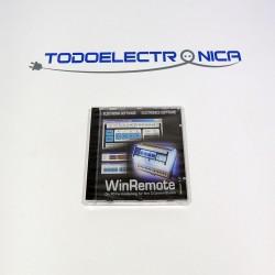 CD con software de control remoto de PC WinRemote