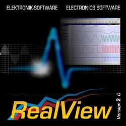 Software RealView para registro y medición de circuitos en tiempo real