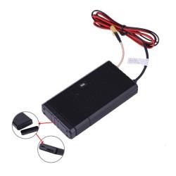 Localizador GPS + GSM + WiFi con monitoreo de la batería del coche