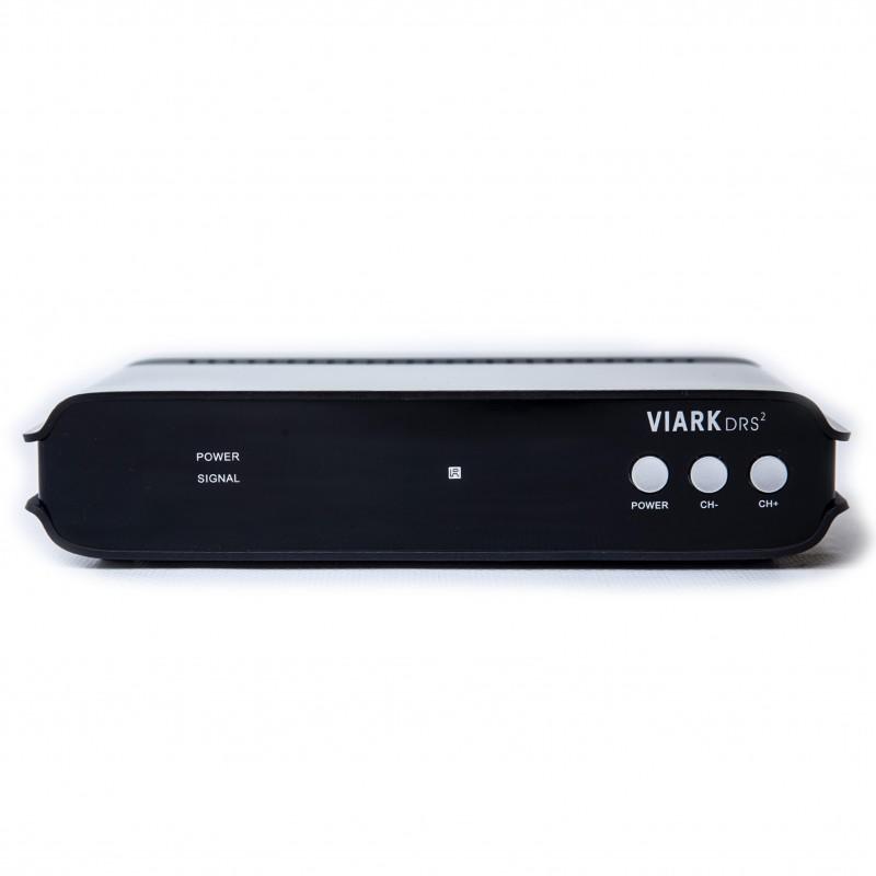 Decodificador satélite Viark DRS2 4K con WiFi, Android 7.0, USB 3.0...