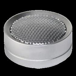 Micrófono omnidireccional con salida RCA hembra y alcance 10~70 m2