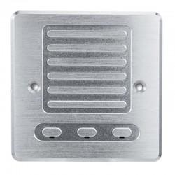 Micrófono omnidireccional antivandálico IK10 para caja de mecanismos