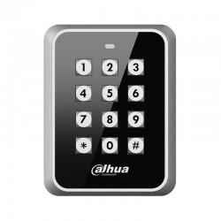 Control de accesos antivandálico con teclado y lector de tarjetas Dahua