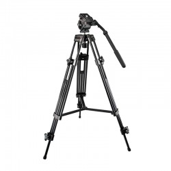 Trípode profesional para cámaras termográficas extensible hasta 189cm y apto para exterior