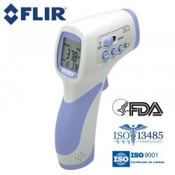 Termómetro IR profesional sin contacto certificado contra el COVID-19