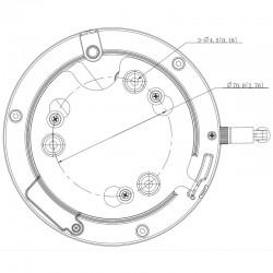 Cámara IP WiFi motorizada Dahua de 4 mpx, 2,8~12 mm para exterior
