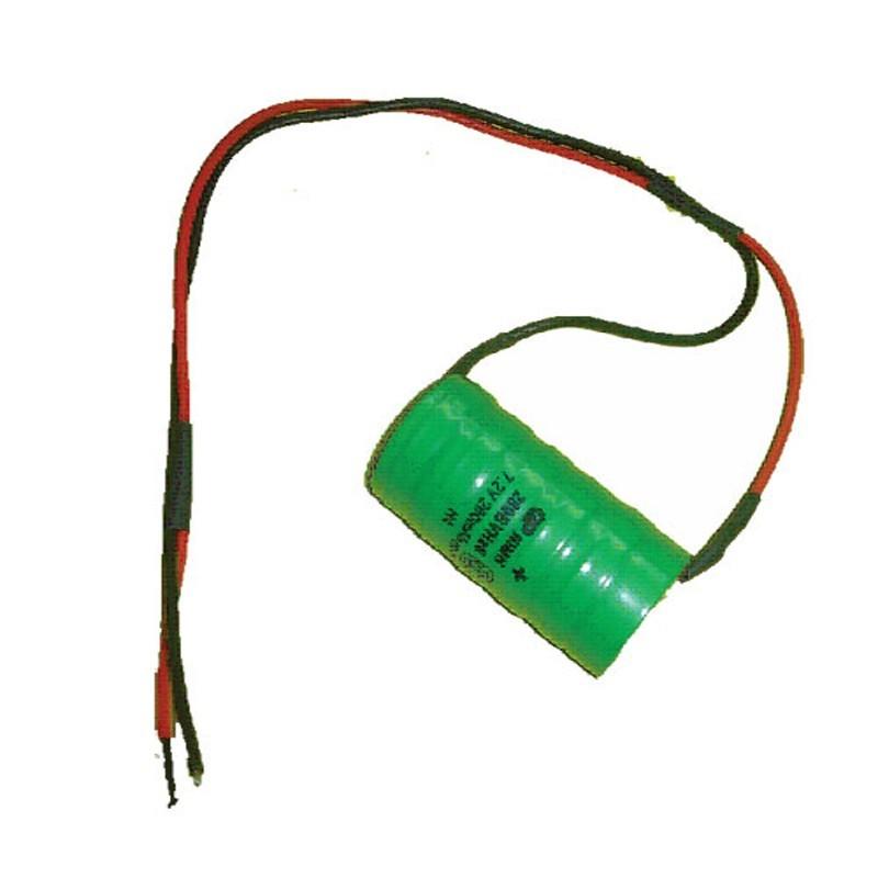 Batería de NiCd para las sirenas modelo SIMONE / CAROL / MATTY