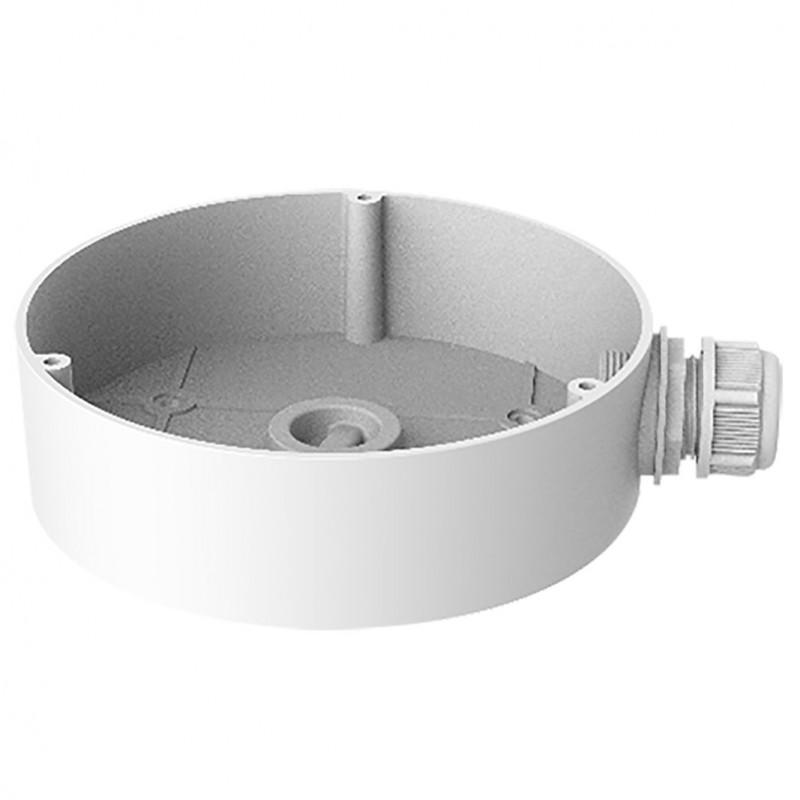 Caja de conexiones con pasador de cables para cámaras domo pared/techo
