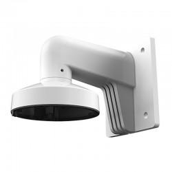 Soporte de pared exterior con pasador de cables para cámaras mini domo