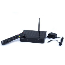 Decodificador de satélite Viark Lil Full HD 1080p con WiFi y LAN