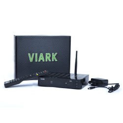 Decodificador de satélite Viark Lil Full HD 1080p con WiFi y LAN