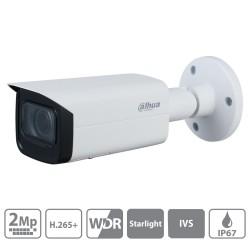 Cámara de vigilancia IP Dahua de 2 mpx con lente motorizada 2,7~13,5mm
