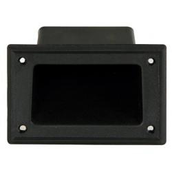 Asa para caja acústica de plástico de 137 x 87 mm