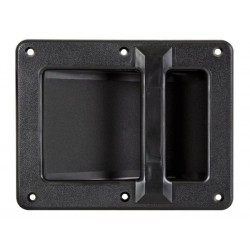 Asa robusta para caja acústica de plástico de 210 x 160 mm