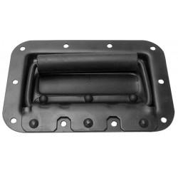 Asa para caja acústica con resorte de metal negro 44 x 45 x 171mm