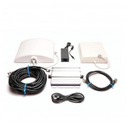 Kit Repetidor de cobertura móvil doméstico GSM 900. 55dB 200 m2. Certificado CE.