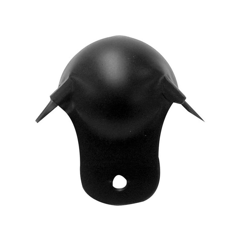 Cantonera para caja acústica de 50mm x 90° en metal color negro