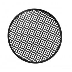 Rejilla metálica para caja acústica de 30.5cm en color negro