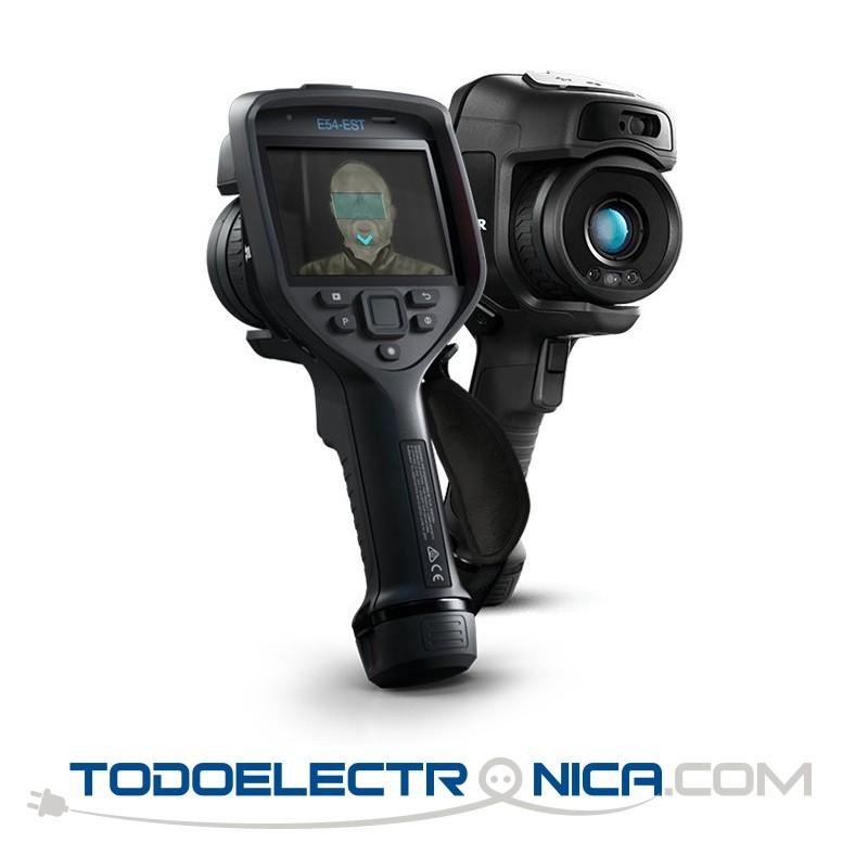 Cámara termográfica Flir E54-EST para medición de temperatura corporal, IR 320x240