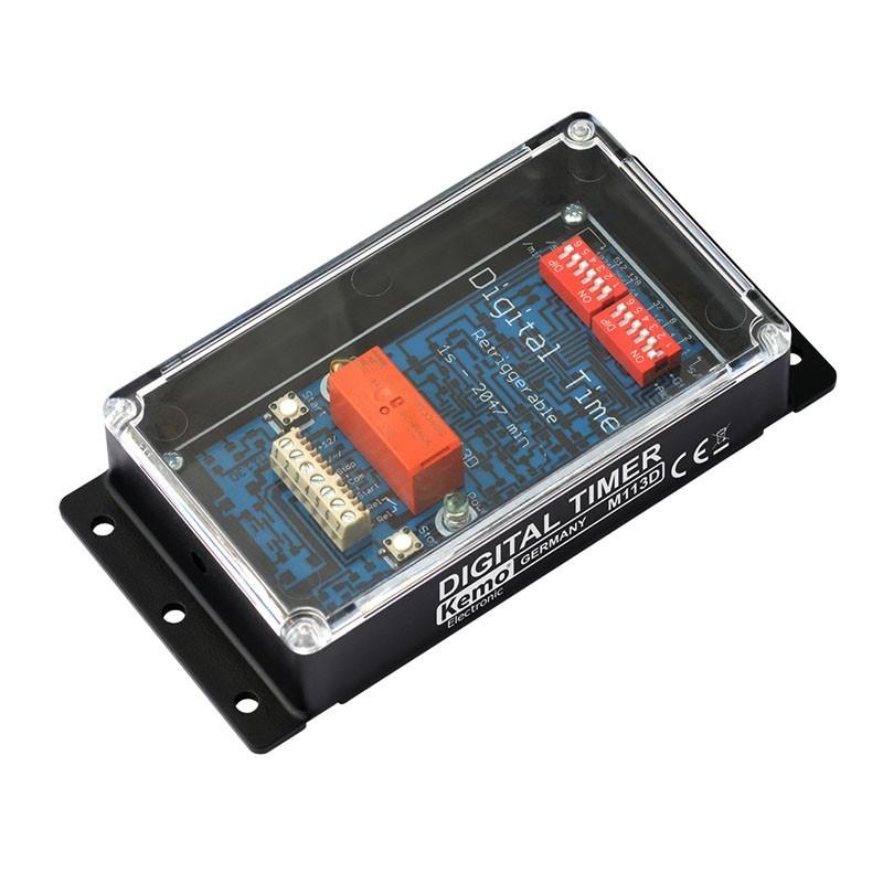 Interruptor horario digital 12V/DC