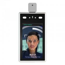Control de acceso facial con detección de fiebre y mascarilla - Software gratuito