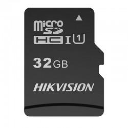 Tarjeta de memoria MicroSD Hikvision con 32GB de capacidad clase 10 U1