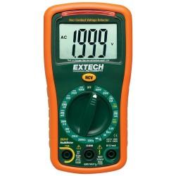 Mini multímetro de 9 funciones con detector de voltaje sin contacto