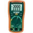 Multímetro compacto Extech EX330 de 12 funciones + detector de voltaje