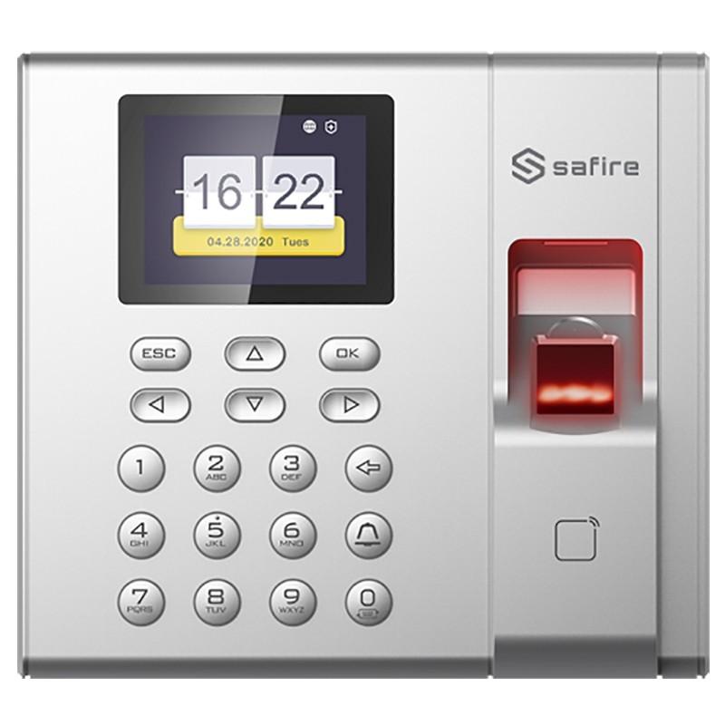 Control de acceso y presencia Safire por huella, tarjeta Mifare o PIN